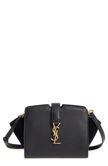 Saint Laurent Toy Cabas Leather Crossbody Bag -