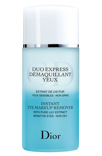 Dior Instant Eye Makeup Remover For Sensitive Eyes - No Color