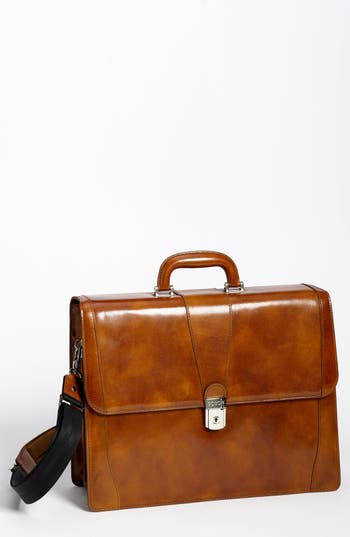 Bosca Double Gusset Briefcase -