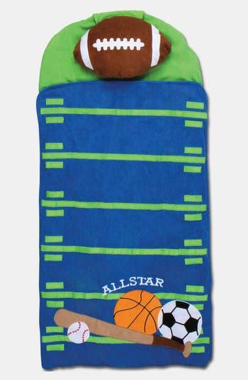 Stephen Joseph Portable Nap Mat, Pillow & Blanket, Size One Size - Green