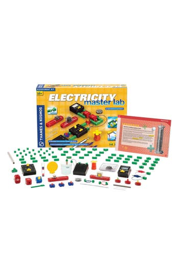 Boys Thames  Kosmos Electricity Master Lab Experiment Kit