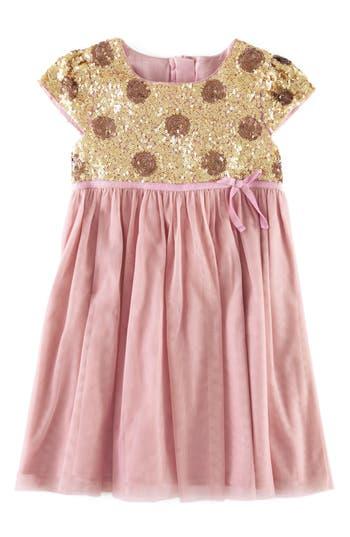 Girl's Mini Boden Sequin Party Dress
