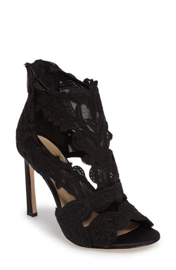 Imagine By Vince Camuto Randal Lace Detailed Sandal