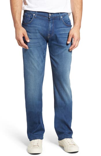 7 For All Mankind The Straight Luxe Performance Slim Straight Leg Jeans
