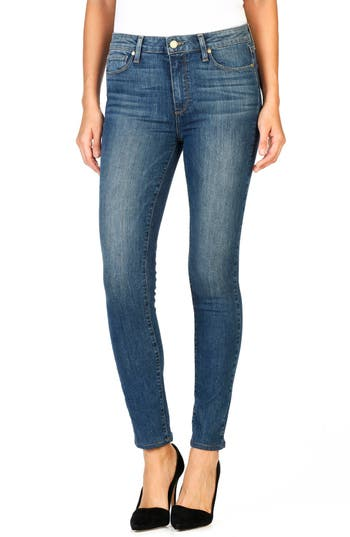 Paige Hoxton High Waist Ankle Ultra Skinny Jeans