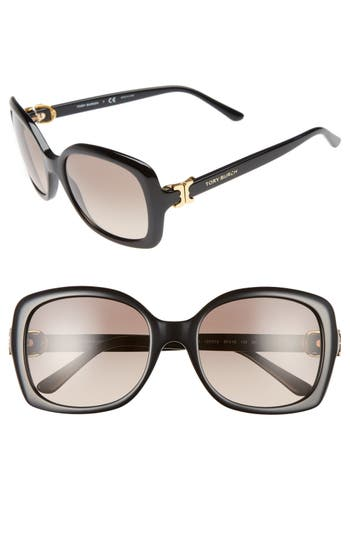 Women's Tory Burch 57Mm Oversized Sunglasses -