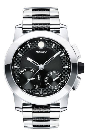 Movado Vizio Chronograph Bracelet Watch, 45Mm