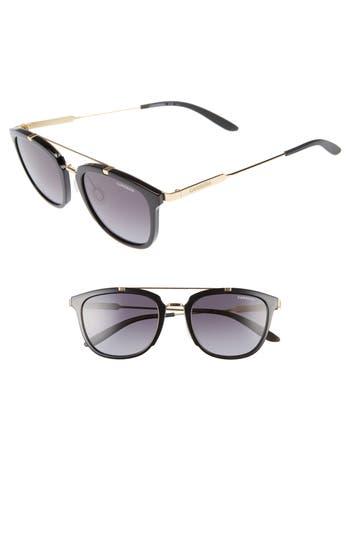 Carrera Eyewear Retro 51Mm Sunglasses - Shiny Black