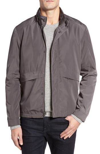 Cole Haan Trucker Jacket, Grey
