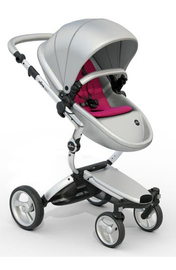 Infant Mima Xari Aluminum Chassis Stroller With Reversible Reclining Seat  Carrycot Size One Size  Grey