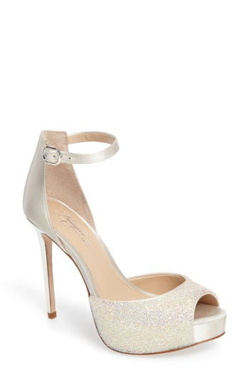 Imagine By Vince Camuto Karleigh Platform Sandal- White