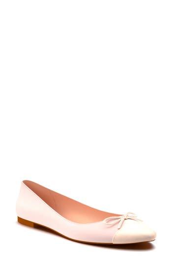 Shoes Of Prey Almond Toe Ballet Flat