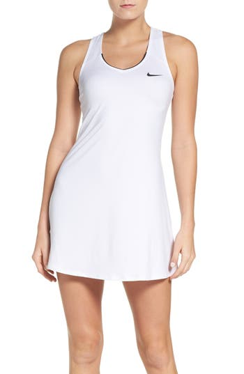 Nike Dri-Fit Tennis Dress, White