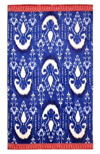 John Robshaw Vaya Resort Towel Size One Size  Blue