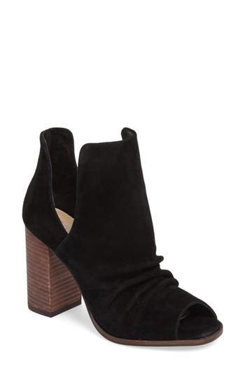 Kristin Cavallari Lash Split Shaft Bootie, Black