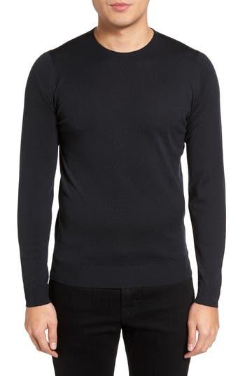 John Smedley Merino Wool Sweater, Black