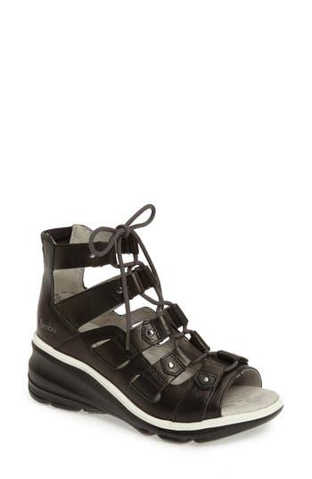 Women's Jambu Milano High-Top Wedge Sandal