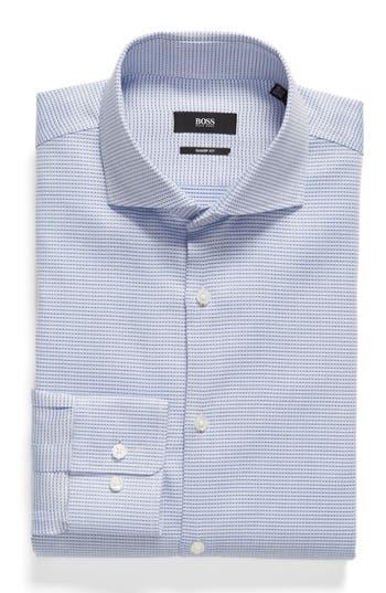 Men's Big & Tall Boss Mark Sharp Fit Geometric Dress Shirt