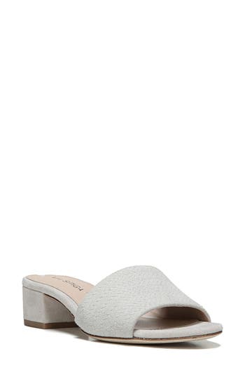 Via Spiga Gisel Slide Sandal- Grey