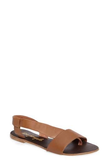 Women's Free People Under Wraps Sandal, Size 7US / 37EU - Brown