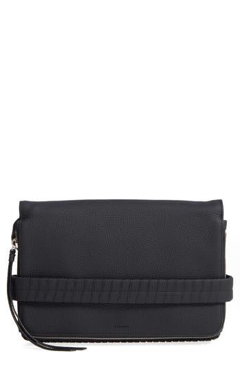 Allsaints Medium Club Convertible Crossbody Bag - Black