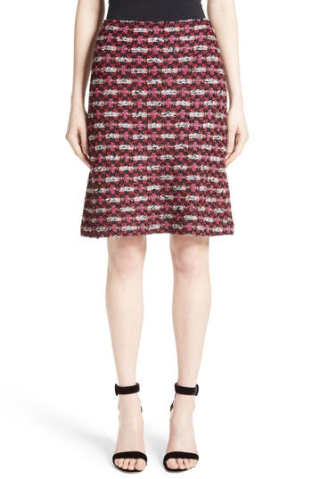 Women's St. John Collection Hiran Tweed Knit Skirt at NORDSTROM.com