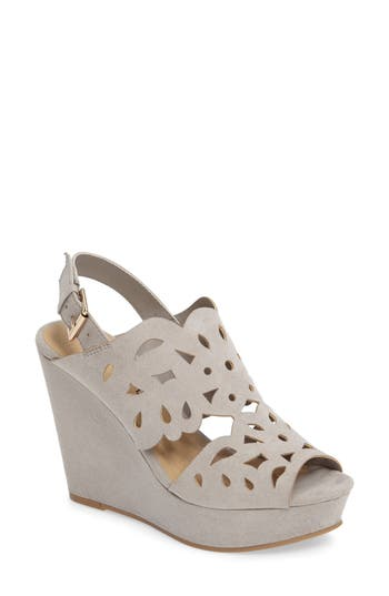 Chinese Laundry In Love Wedge Sandal, Grey