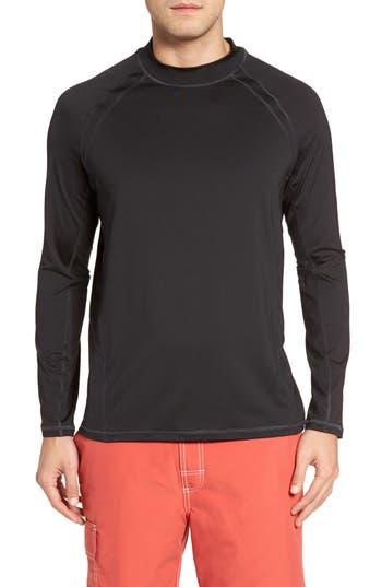 Big & Tall Tommy Bahama Surf Chaser Crewneck T-Shirt, Black