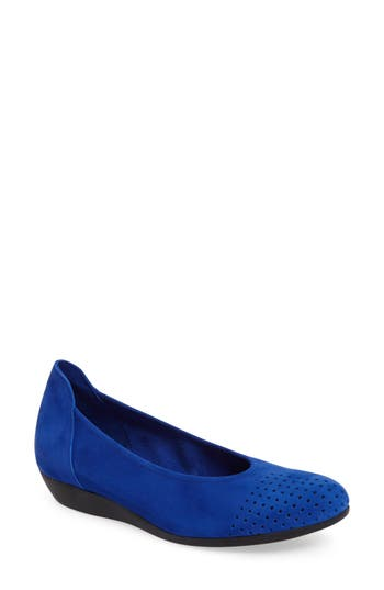 Arche Onara Water Resistant Flat, Blue