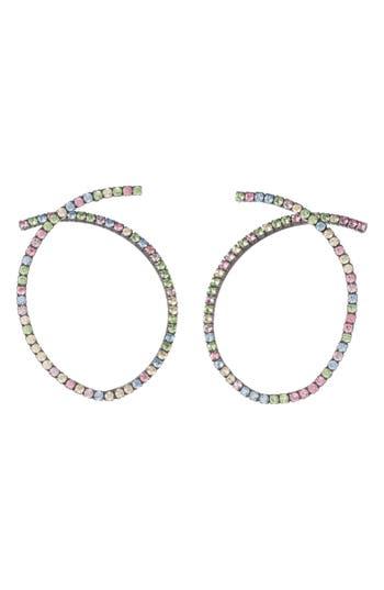 Women's Dannijo Auburn Swarovski Crystal Earrings