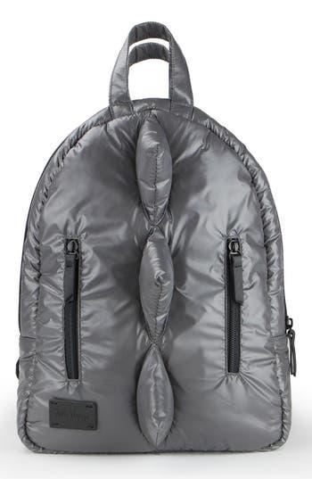 Infant 7 A.m. Enfant Dino Water Repellent Mini Backpack - Grey