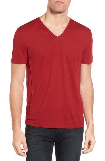 John Varvatos Star Usa V-Neck T-Shirt, Red