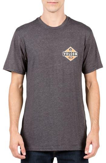 Volcom Caution Graphic T-Shirt, Black