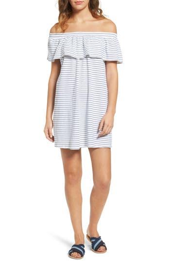Sundry Ruffle Off The Shoulder Dress