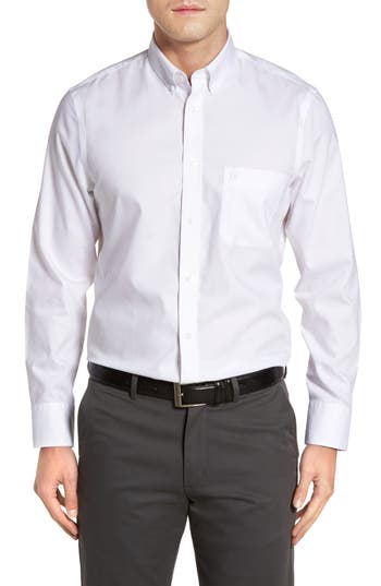 Nordstrom Shop Smartcare(TM) Oxford Sport Shirt, White