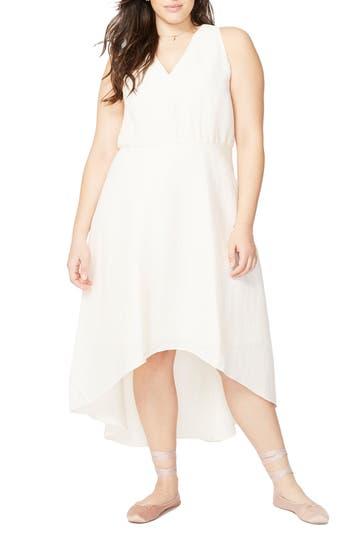 Plus Size Rachel Rachel Roy Flutter Drape Dress, Ivory