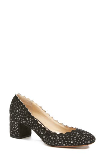 Chloe Lauren Scalloped Pump