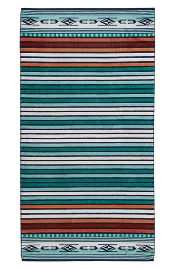 Pendleton Chimayo Jacquard Bath Towel, Size One Size - Blue/green
