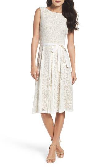 Gabby Skye Lace Midi Dress