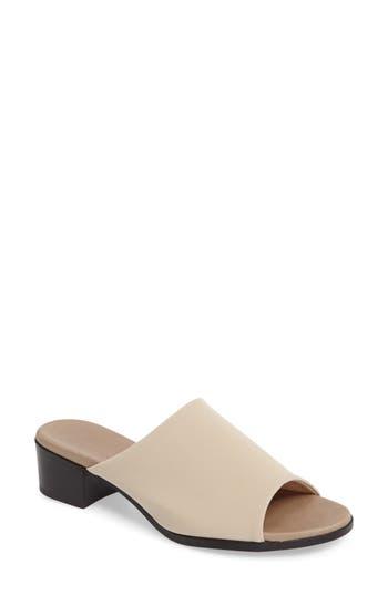 Munro Beth Slide Sandal, Ivory
