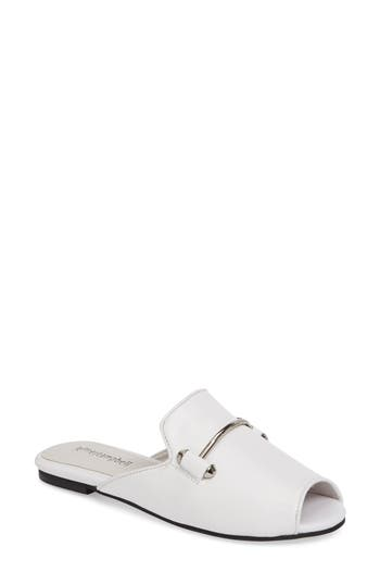 Jeffrey Campbell Talley Slide- White