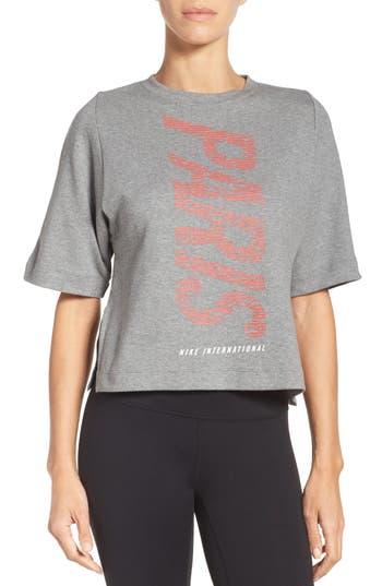 Nike International Crop Top, Grey