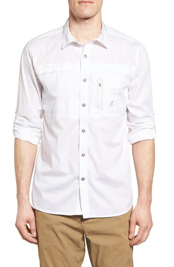 Gramicci No-Squito Regular Fit Travel Shirt, White