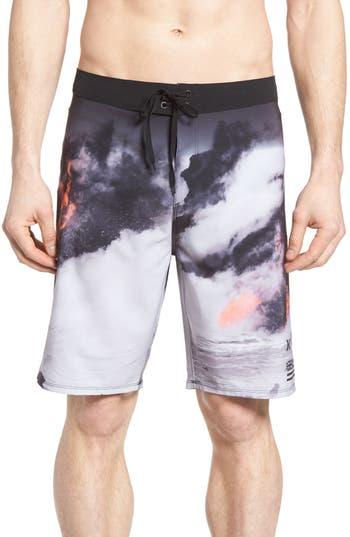 Big & Tall Hurley Phantom Clark Little Lava Board Shorts, Blue