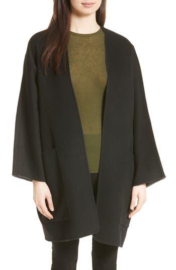Women's Vince Reversible Wool & Cashmere Clutch Coat