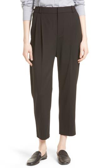 Women's Vince Stretch Wool Crop Trousers