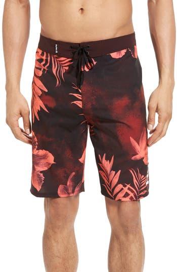 Big & Tall Hurley X-Ray Board Shorts, Red