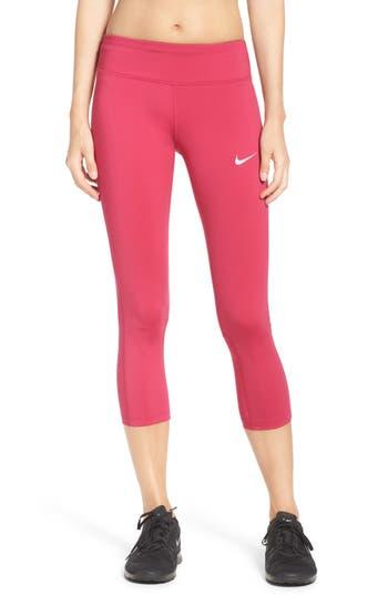 Nike Power Epic Run Crop Tights, Pink