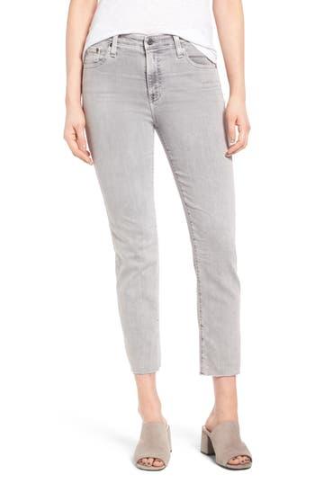 Women's Ag The Isabelle High Waist Crop Straight Leg Jeans