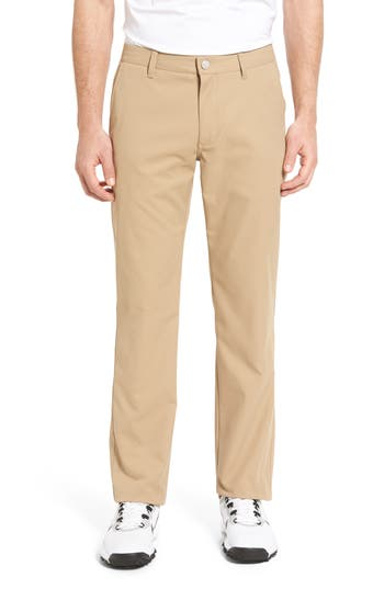 Men's Bonobos Highland Slim Fit Golf Pants, Size 33 x 30 - Beige